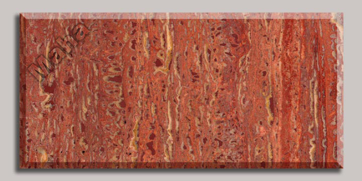 250-2 Red Travertine