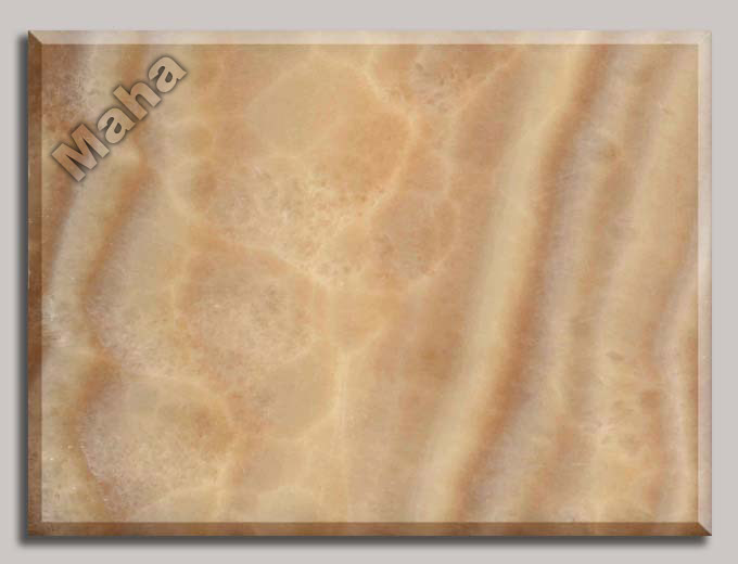 587-2 Cross cut honey onyx